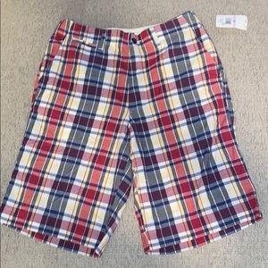 Men's Polo Ralph Lauren Plaid Shorts NWT - A